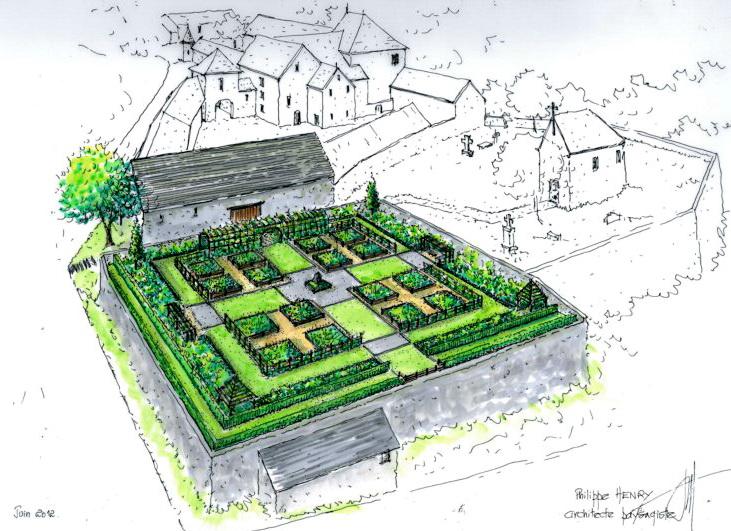 Jardin m di val de thynes ville de dinant for Qu est ce qu un plan du site pour une maison