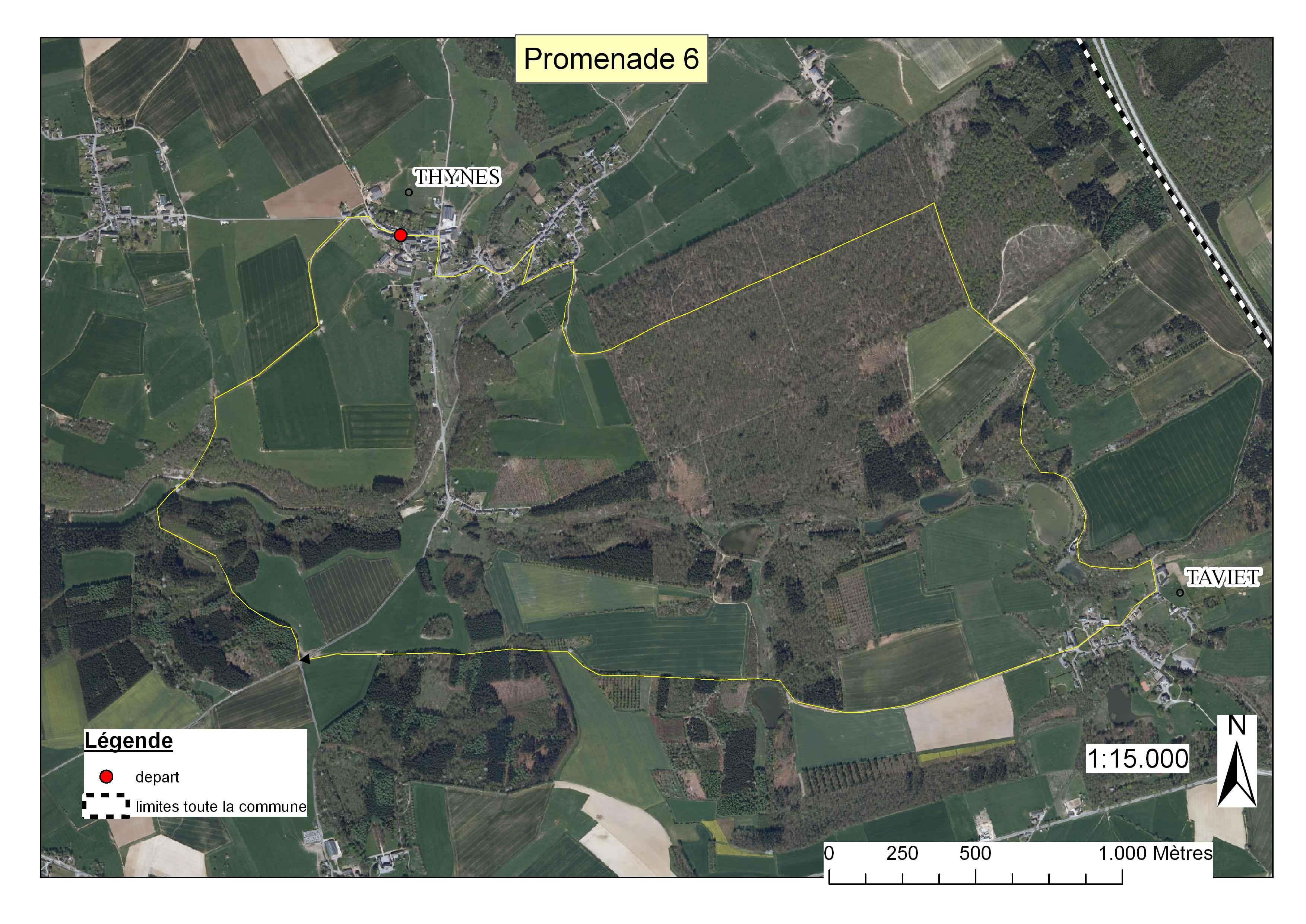 Carte Belgique Dinant Environs.Balades Ville De Dinant